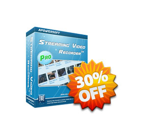 Apowersoft Streaming Video Recorder Personal License discount