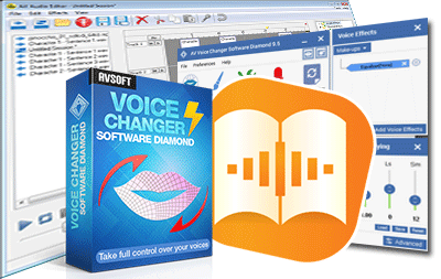 create audiobook with voice changer software diamond