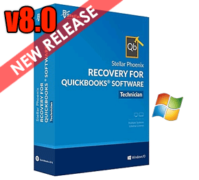 Stellar Phoenix Recovery for QuickBooks Software v8.0 Released