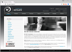 NETGATE Technologies s.r.o. screenshot