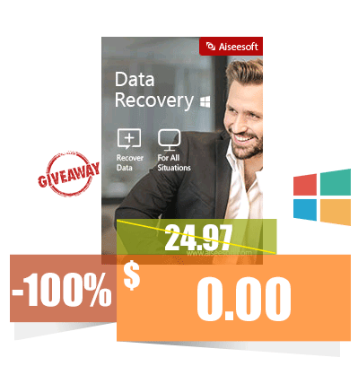 GIVEAWAY Aiseesoft Data Recovery 1.1.6
