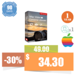Aiseesoft Mac Video Converter Ultimate (1 Year License, 1 PC)