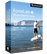 FoneLab iPhone Data Recovery product box