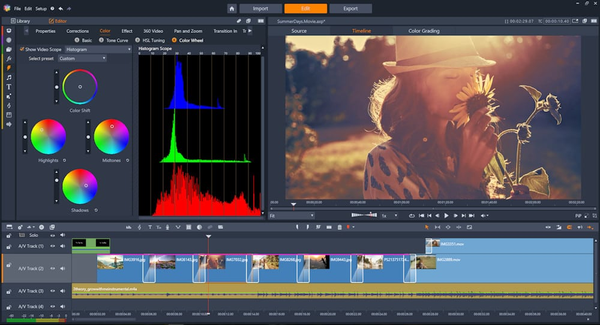 Enjoy 2,000+ video filters, transitions, and effects.