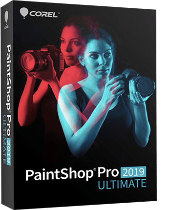 PaintShop Pro 2019 Ultimate boxshot