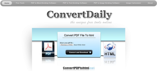 Convert Daily screenshot