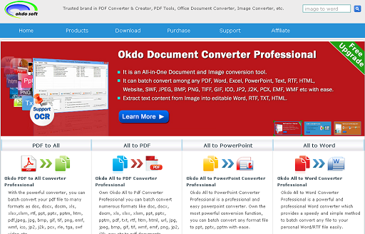 Okdo Software screenshot