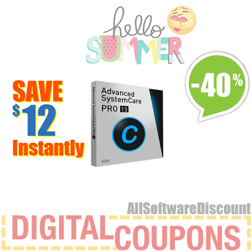 Advanced SystemCare 13 PRO (1 year/ 3 PCs)- Exclusive