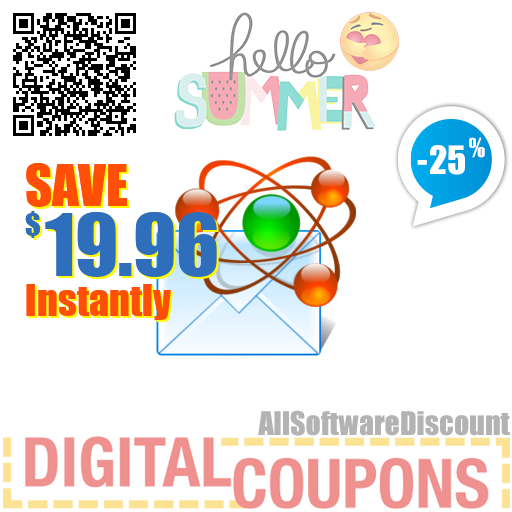 25% OFF Atomic Email Tracker 1 Year July 2020