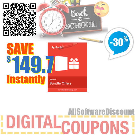 30% OFF Bundle Offer - SysTools Exchange Recovery AD + OST Recovery + Outlook Recovery August 2020