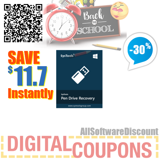 30% OFF SysTools Pen Drive Recovery August 2020
