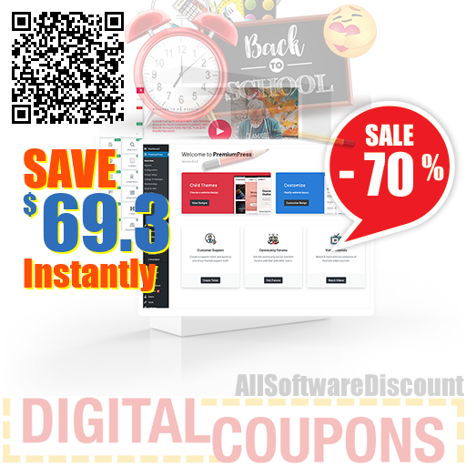 70% OFF Responsive Downloads Theme August 2020