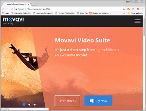 Movavi screenshot
